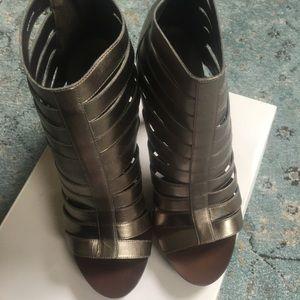 Banana Republic Strappy Leather Heels
